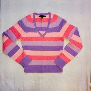 Striped pastel sweater